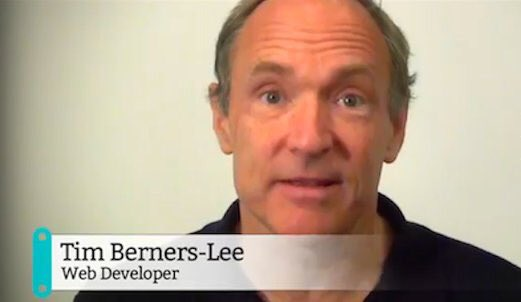 Tim Berners-Lee, Web Developer